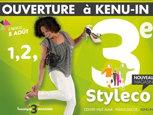 Ouverture 3ème magasin Styleco