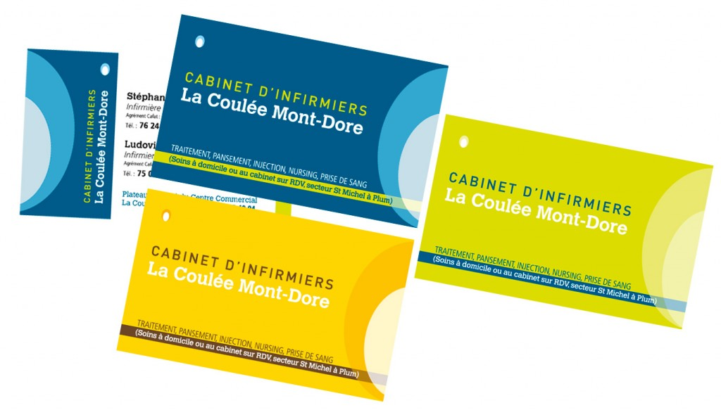 Sacha Communication Cartes De Visite Cabinet DInfirmiers