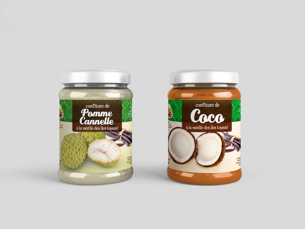 confitures-coco-pomme-canelle